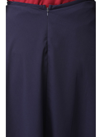 Shorts and Skirts-Blue Knot Around Me Wrap Skirt6