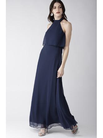 Dresses-Blue On A High Maxi Dress2