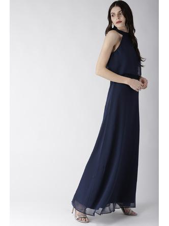 Dresses-Blue On A High Maxi Dress6