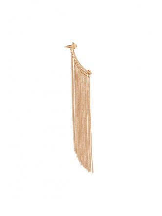 Ear Cuffs-Bold In Gold Fringes Ear Cuff 1