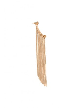 Ear Cuffs-Bold In Gold Fringes Ear Cuff 3