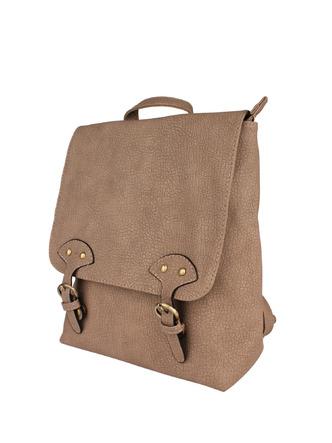 Backpacks-Buckled Up Textured Backpack2