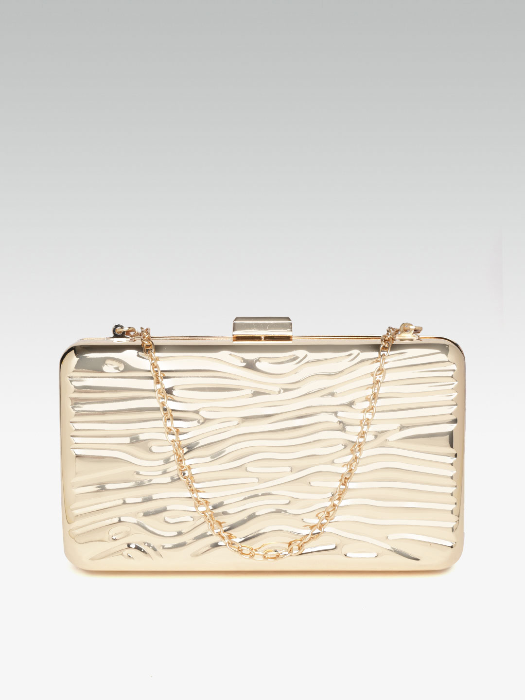 Clutches-The Golden Wave Metal Clutch2