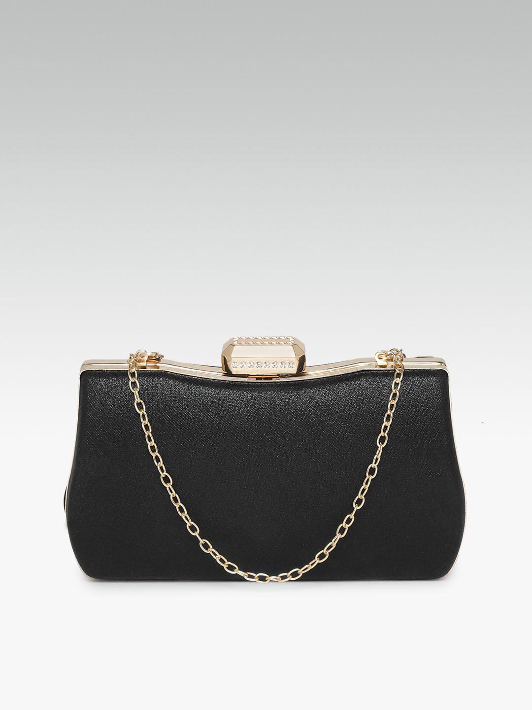 Clutches-Wild Beauty Black Clutch1
