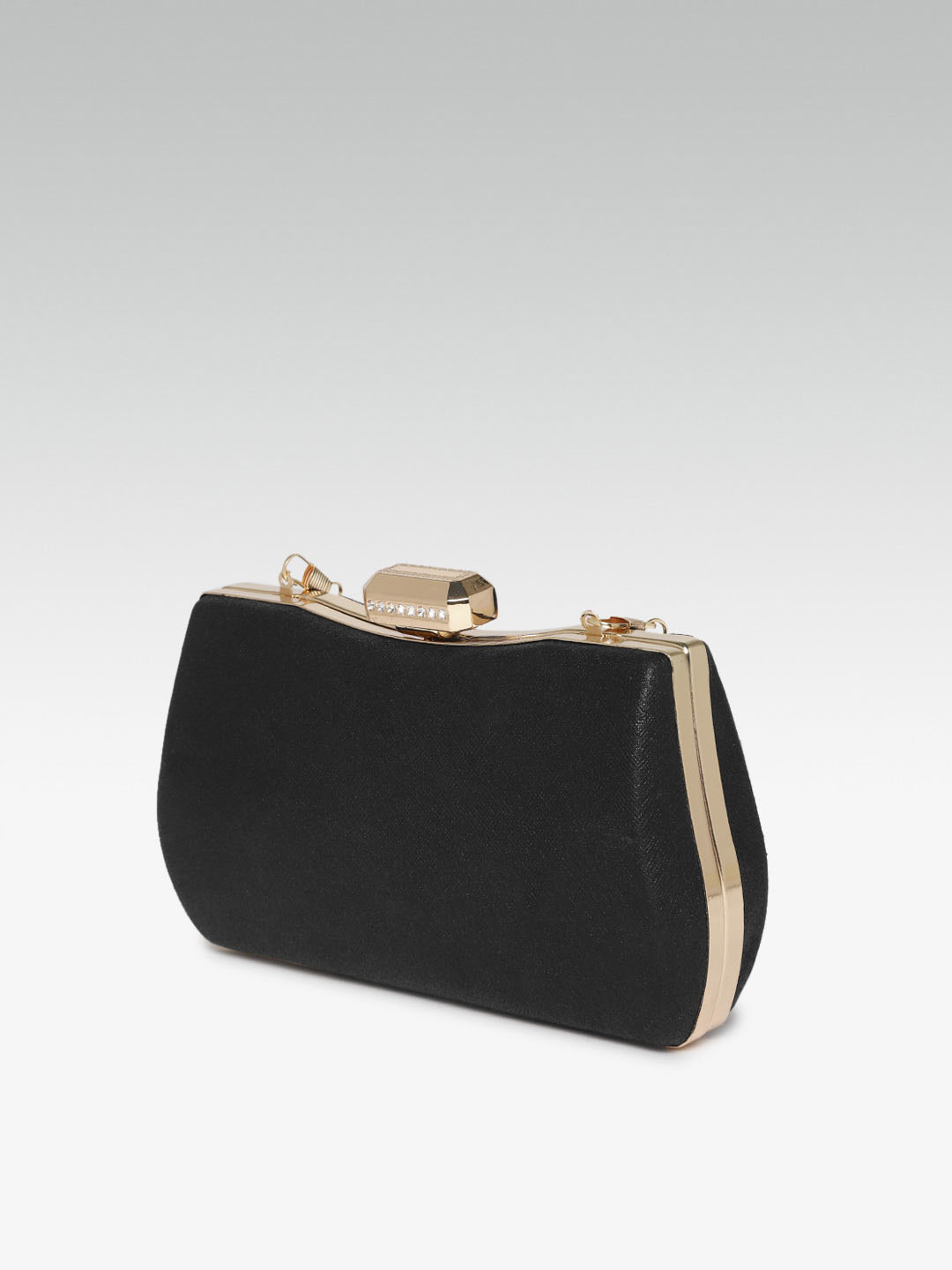 Clutches-Wild Beauty Black Clutch2