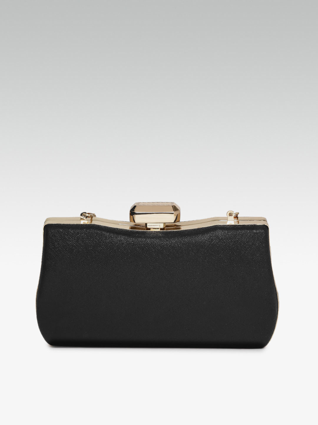 Clutches-Wild Beauty Black Clutch3