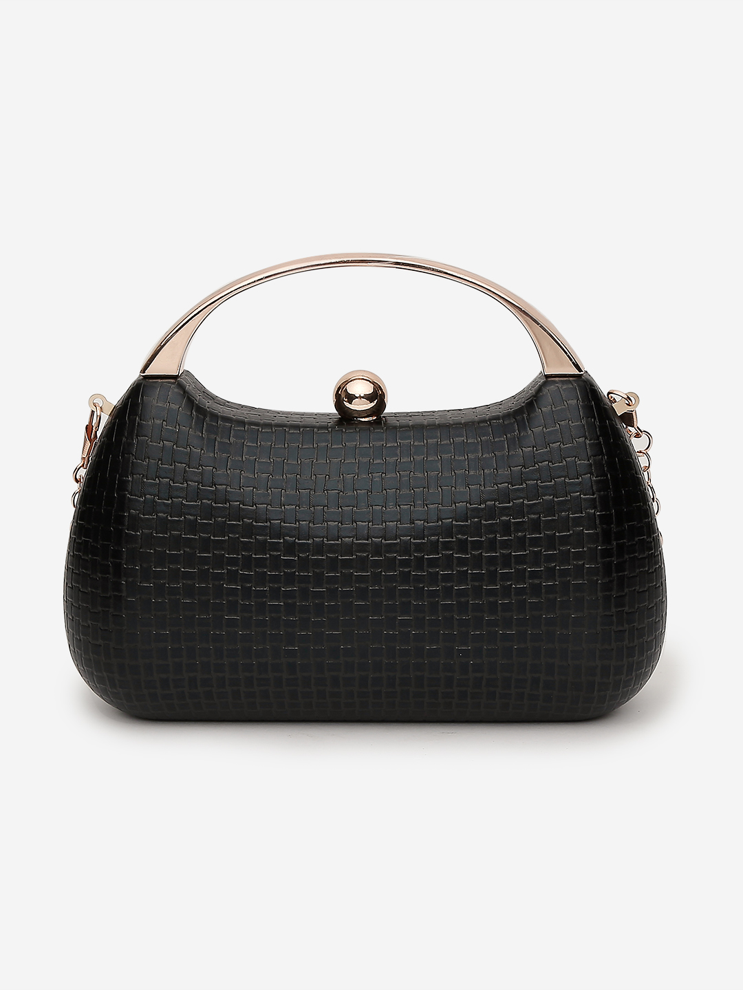 Clutches-Black Keep The Weave Clutch3