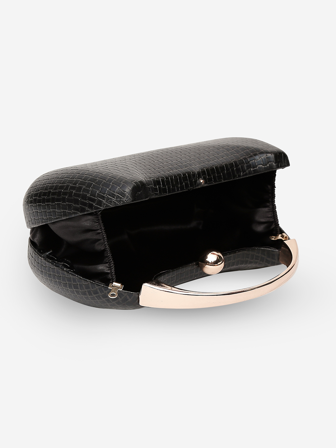 Clutches-Black Keep The Weave Clutch4