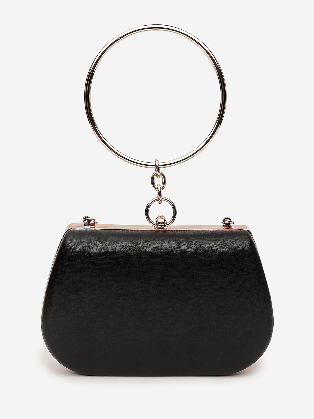 Clutches-The Eye Catcher Black Clutch3