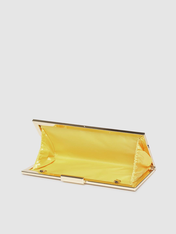 Clutches-Sassy Snakeskin Gold Clutch5