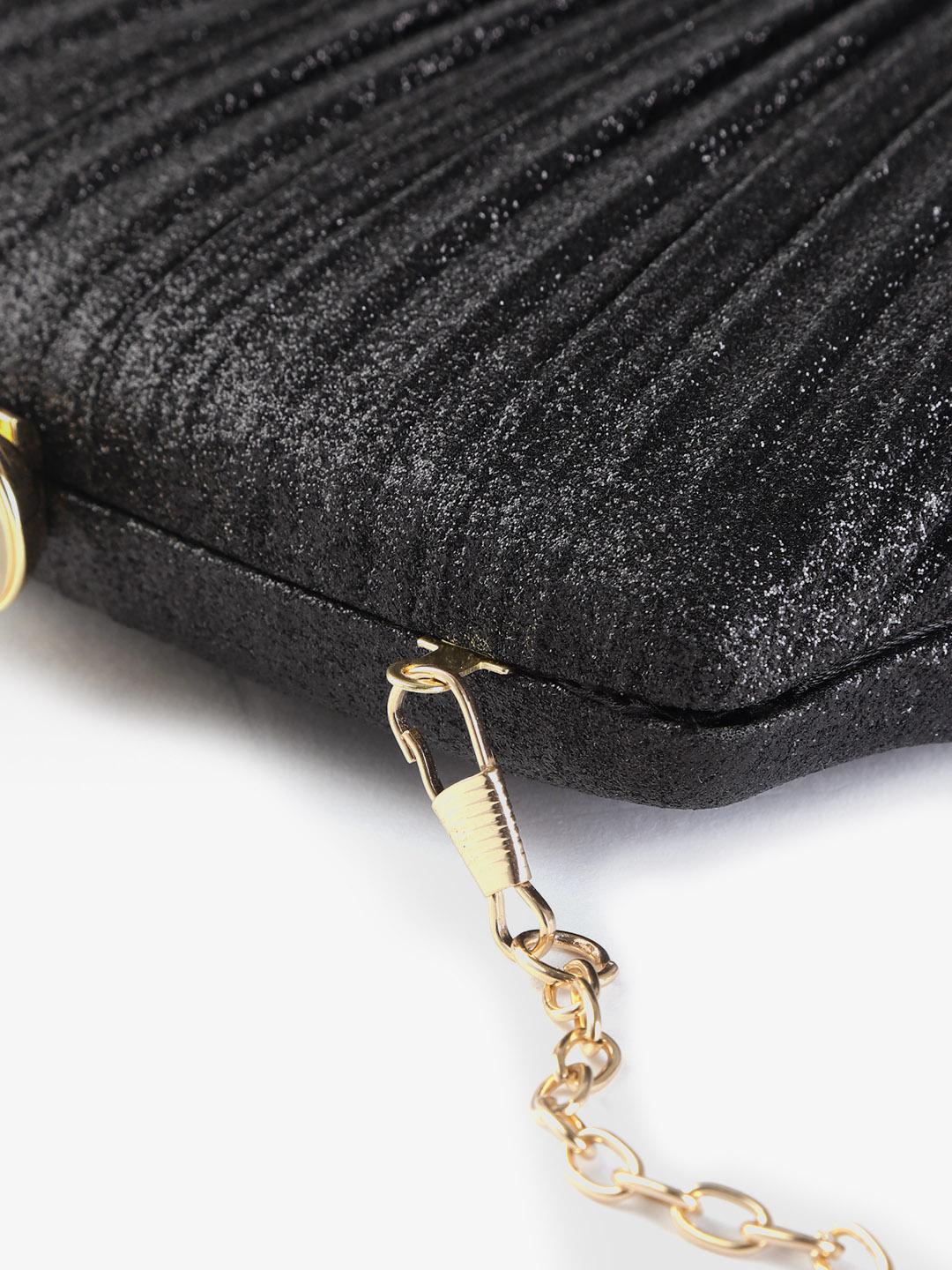 Clutches-Pleated With Grace Black Clutch5