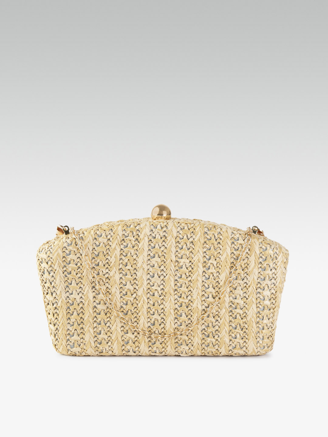 Clutches-Woven With Love Box Clutch1