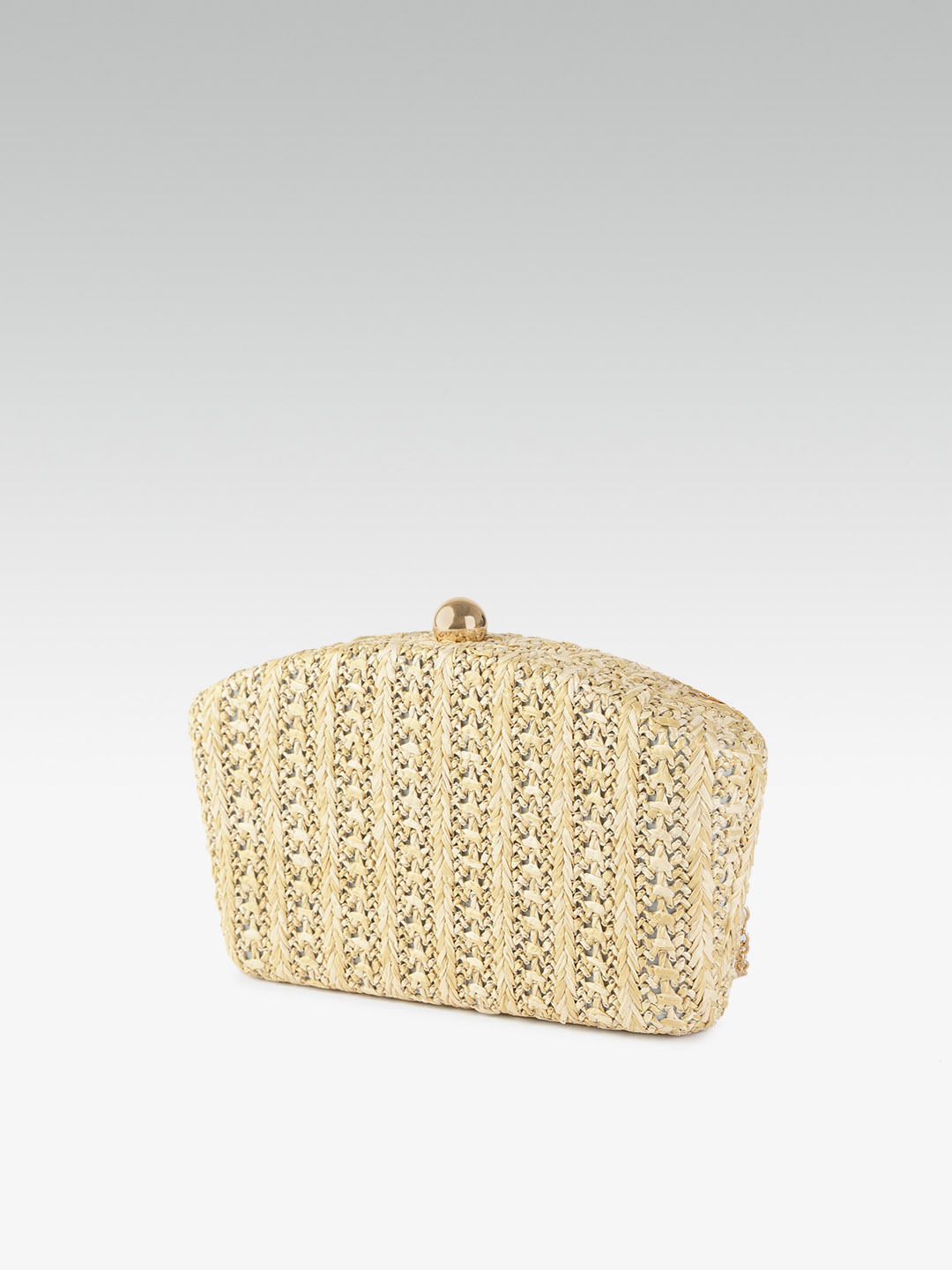 Clutches-Woven With Love Box Clutch2