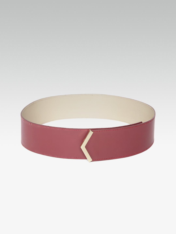 Belts-Casual Cool Maroon Waist Belt3