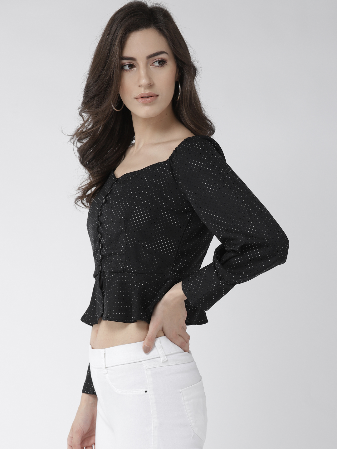 Tops-Caught In Style Peplum Top2