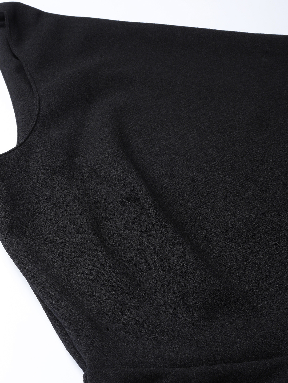 Jumpsuits-Black Get On The Right Side One Shoulder Jumpsuit6