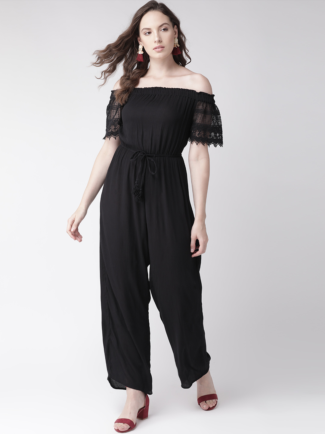 Jumpsuits-Laced In Me Black Jumpsuit1