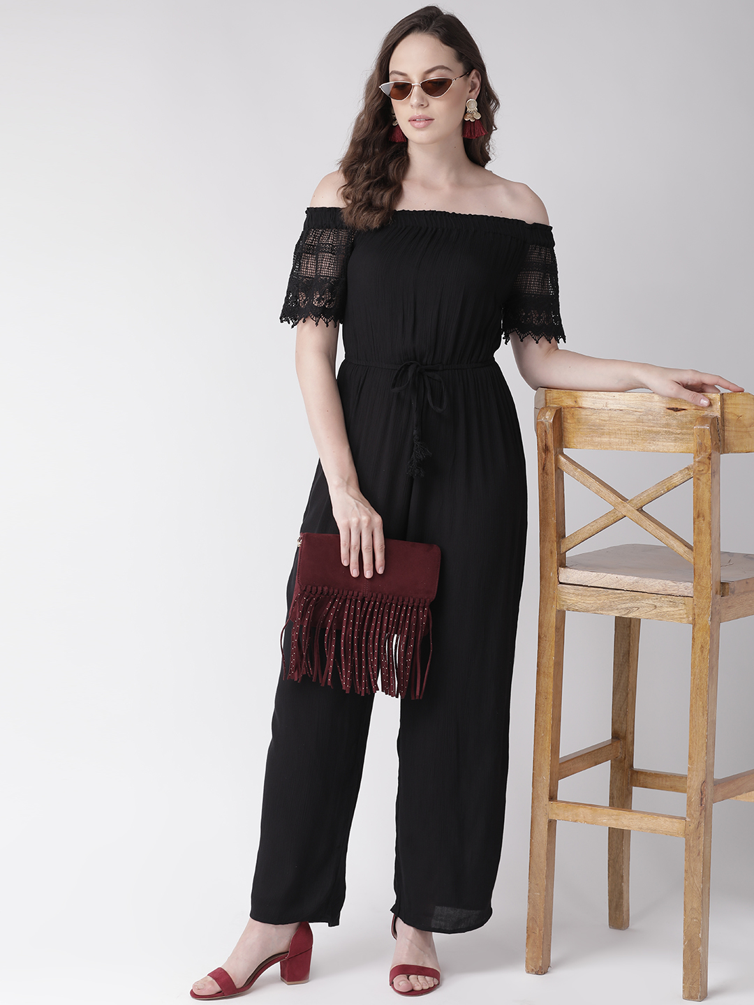 Jumpsuits-Laced In Me Black Jumpsuit4