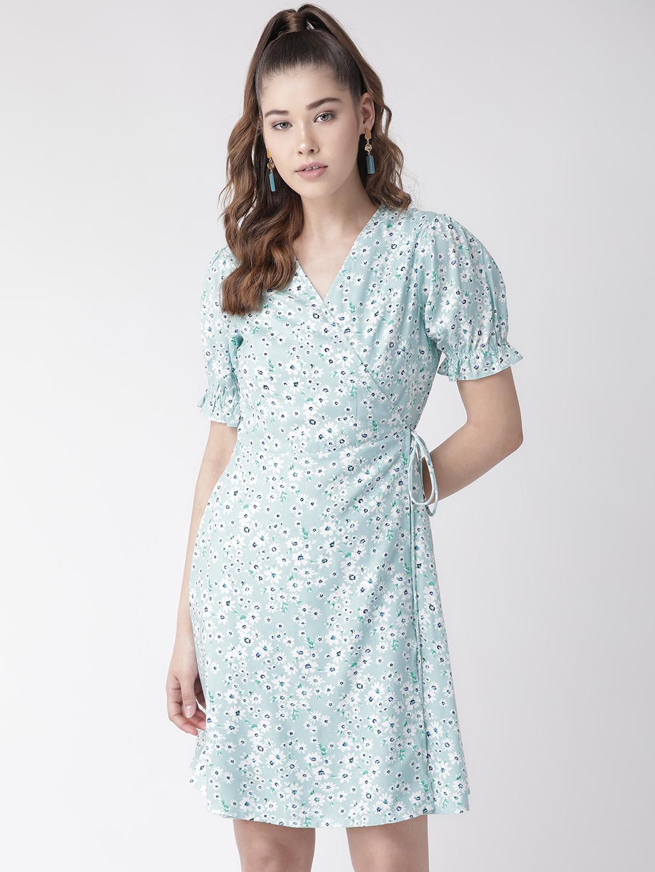 Dresses-Wrap Me In Flowers Dress5