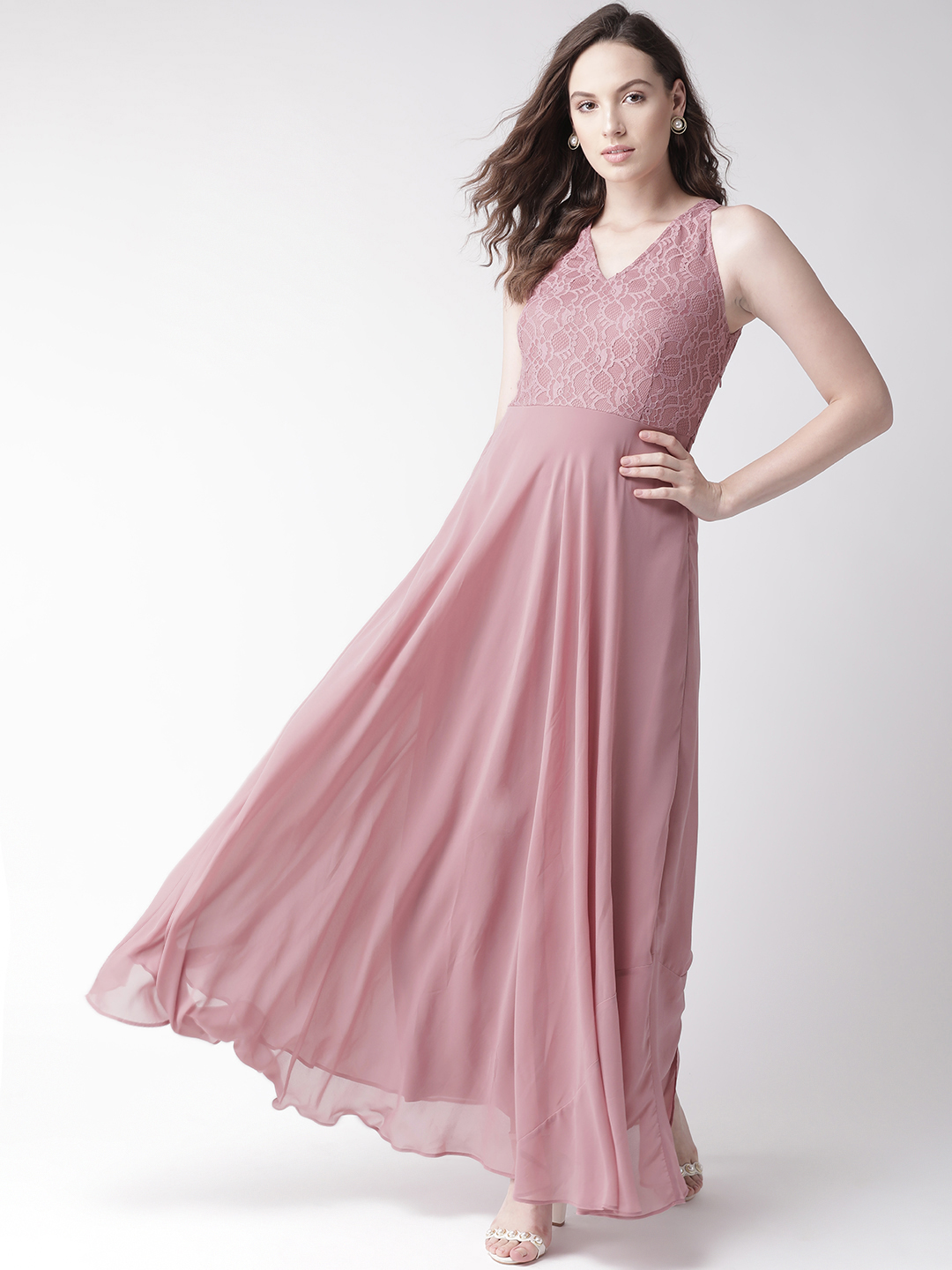 Dresses-Pink All About That Lace Dress1