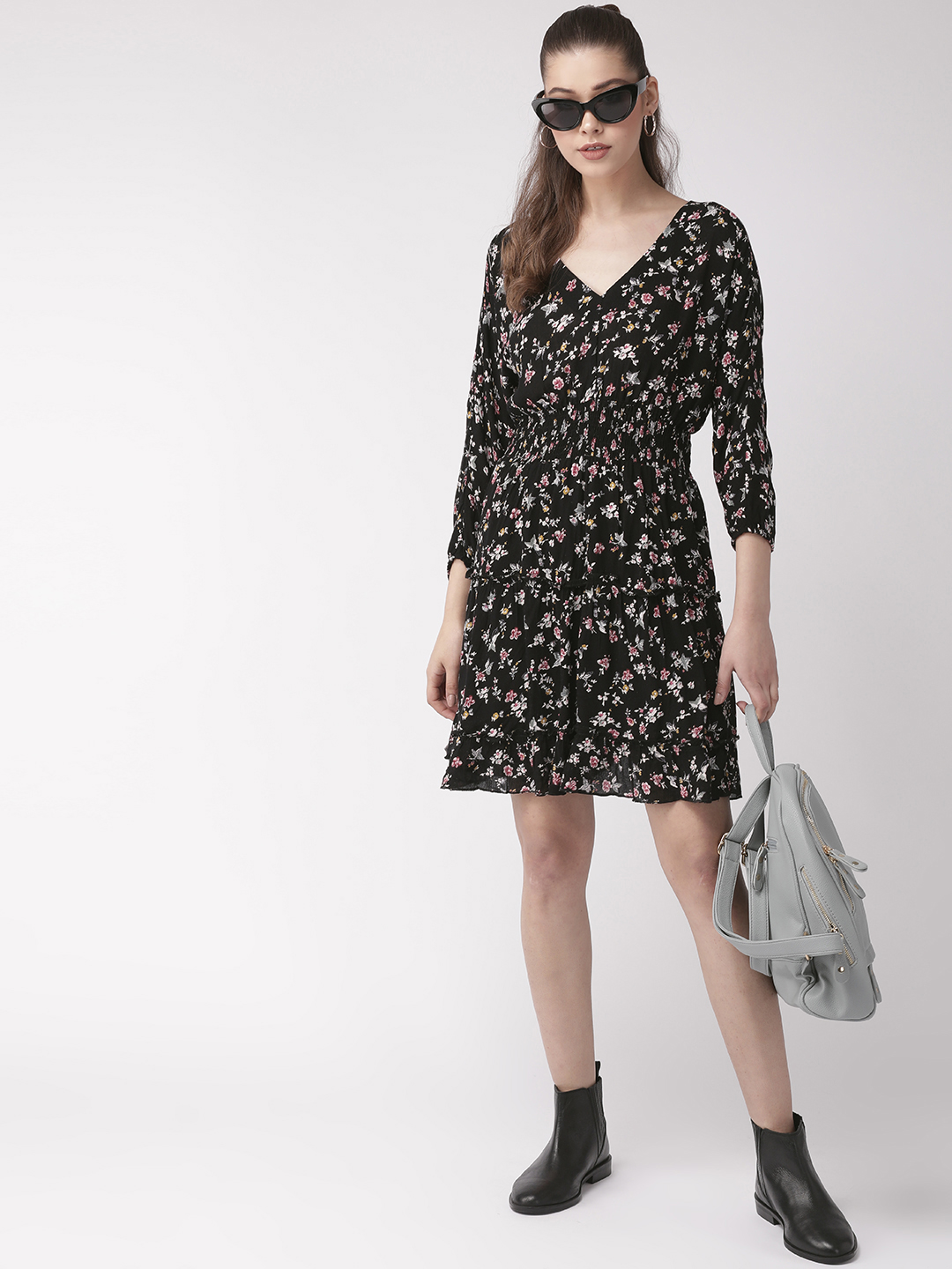 Dresses-Floral My Sweetheart Dress5