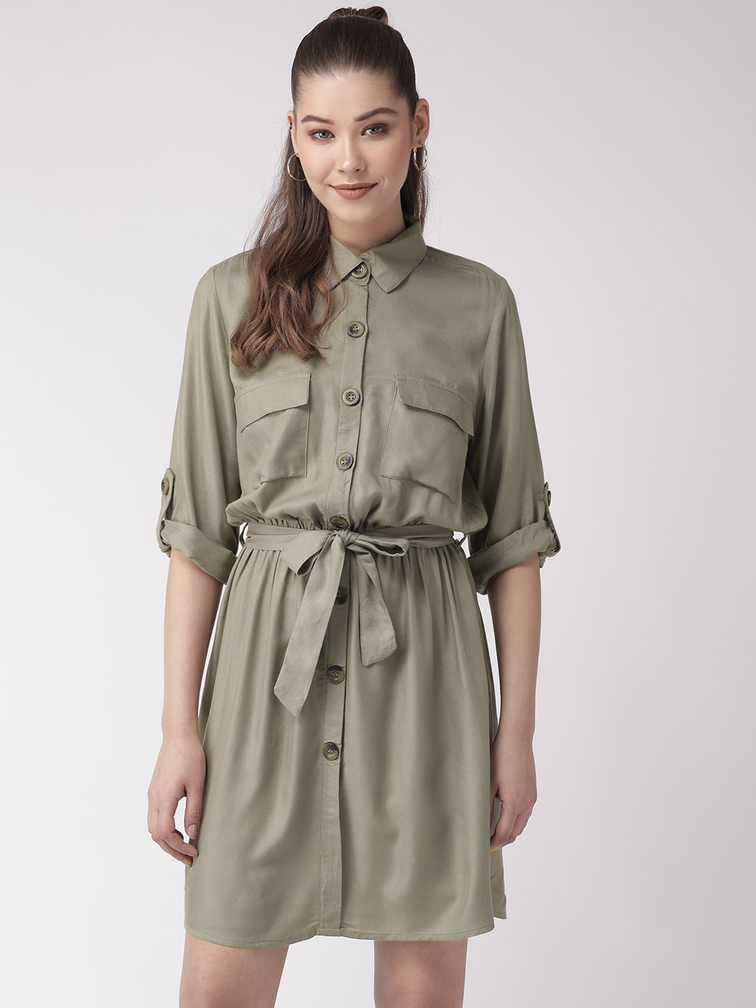 Dresses-Green The Style Breakout Dress1