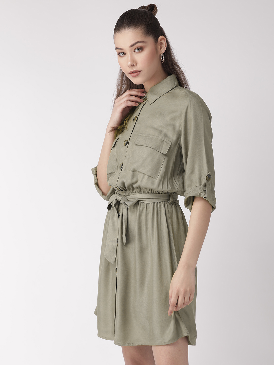 Dresses-Green The Style Breakout Dress2