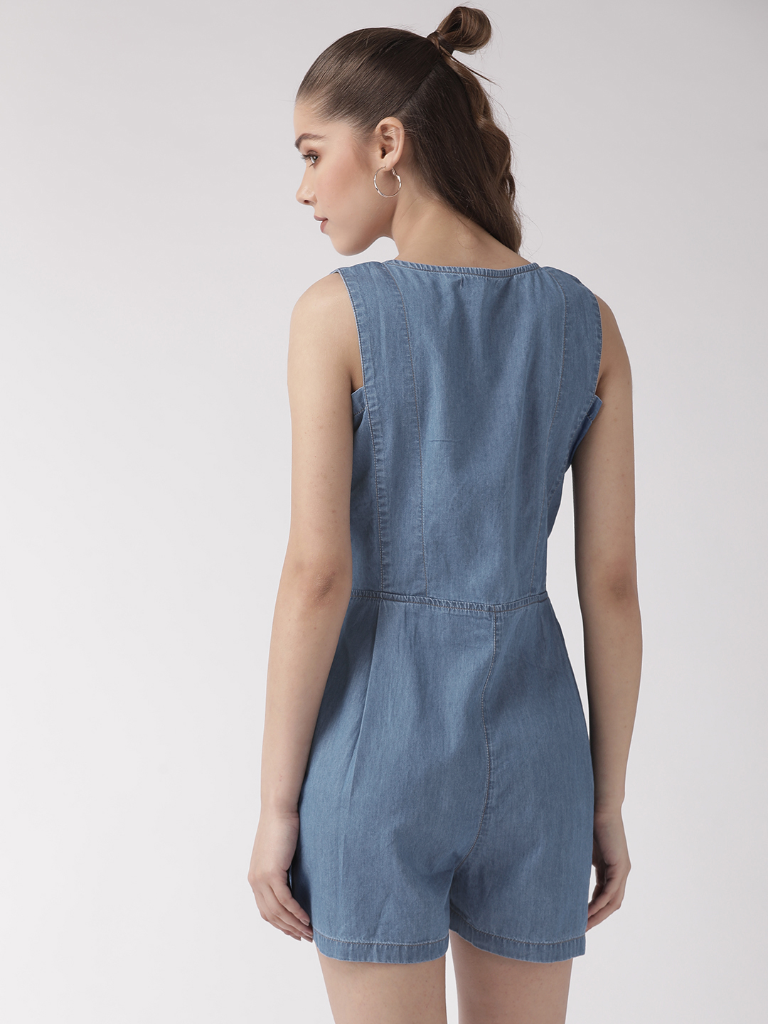 Jumpsuits-Style Me Comfort Denim Playsuit3