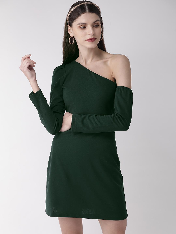 Dresses-Shoulder Bare In Style Dress1