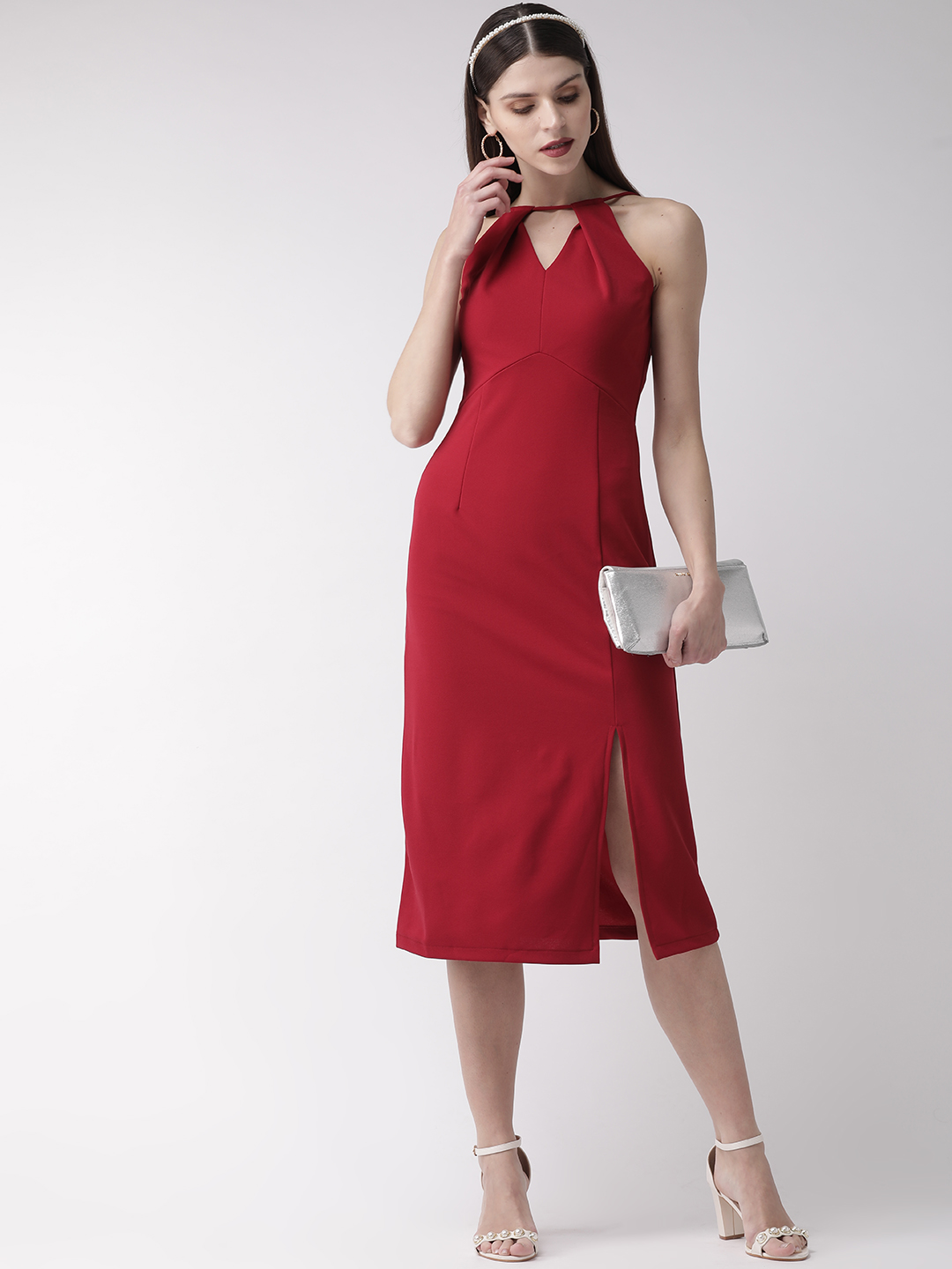 Dresses-Red Holding Onto Style Dress1