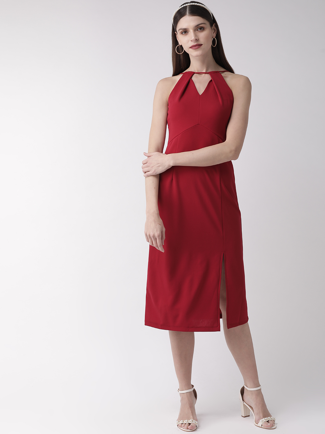 Dresses-Red Holding Onto Style Dress2
