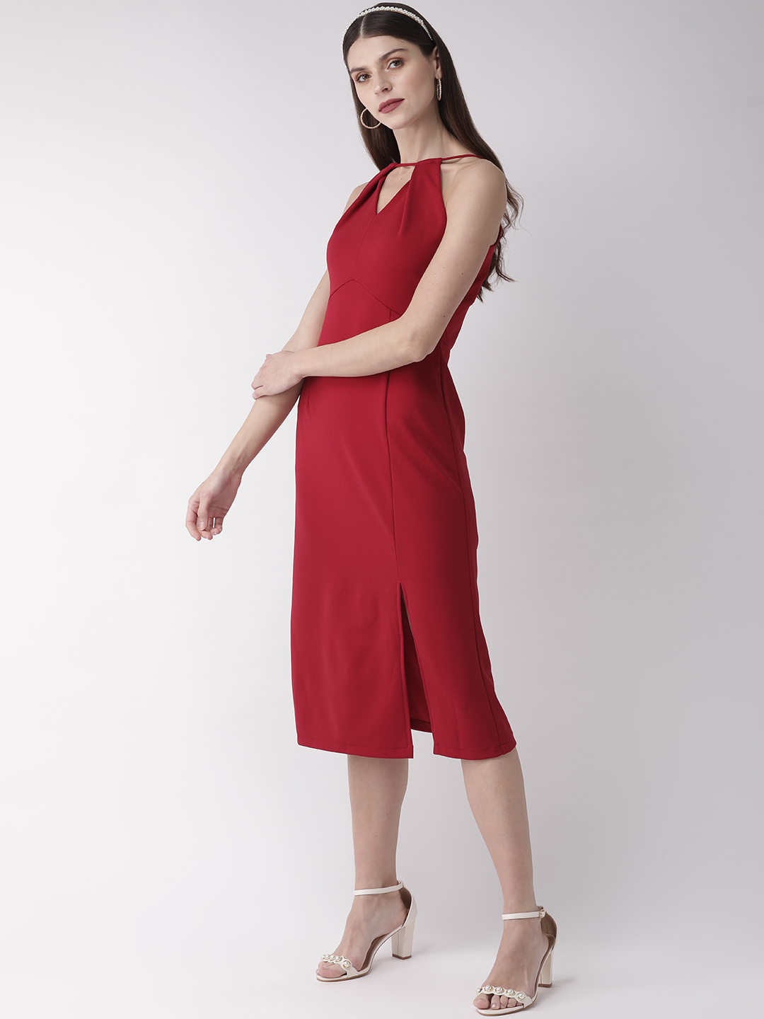 Dresses-Red Holding Onto Style Dress3