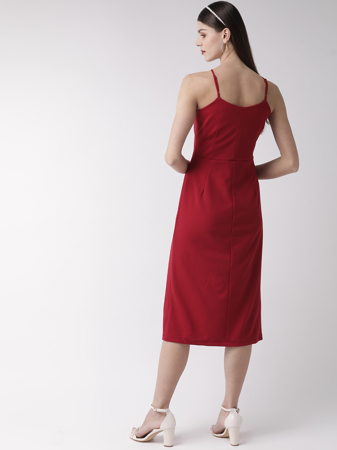 Dresses-Red Holding Onto Style Dress4
