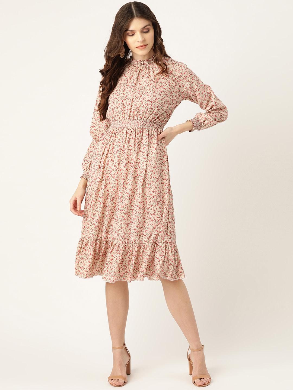 Dresses-Bring Me To Heaven Floral Midi Dress1