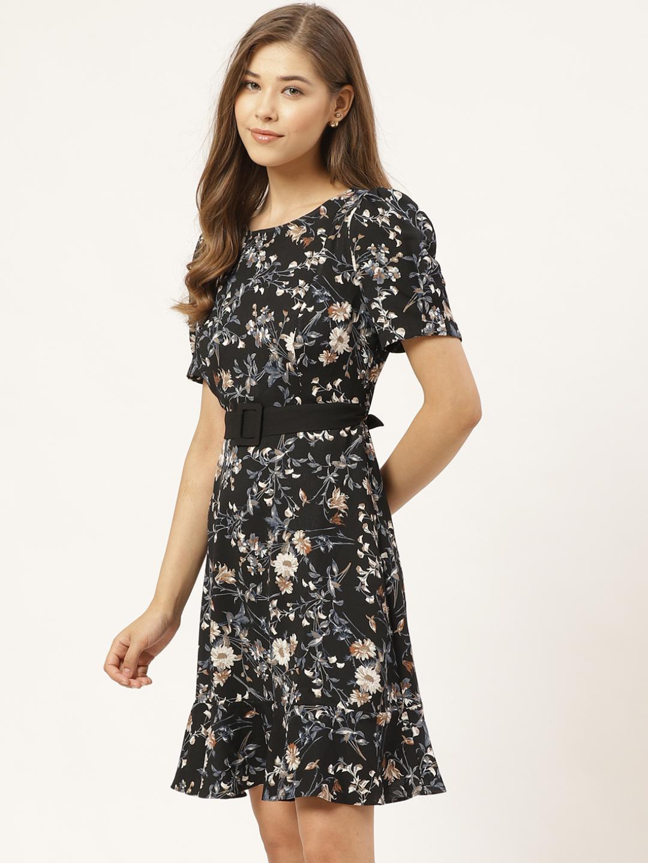 Dresses-The Dark Side Of Floral Dress2