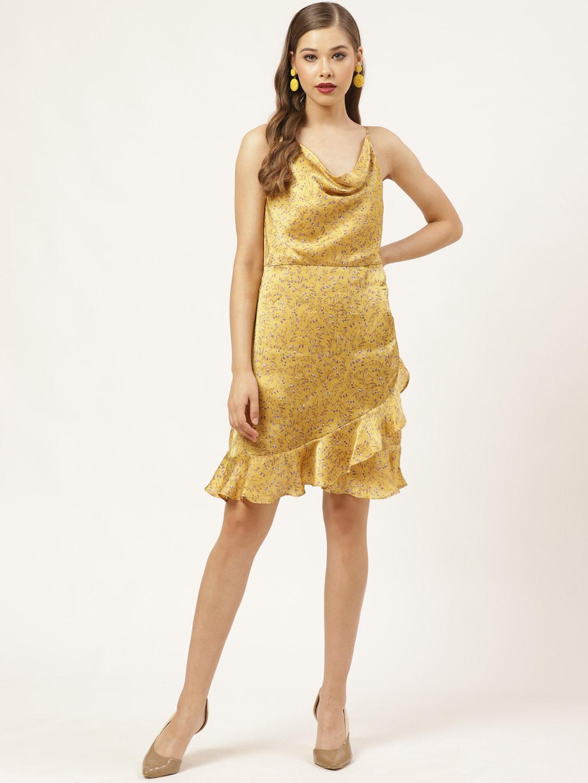 Dresses-Ruffle On The Cowl Dress4
