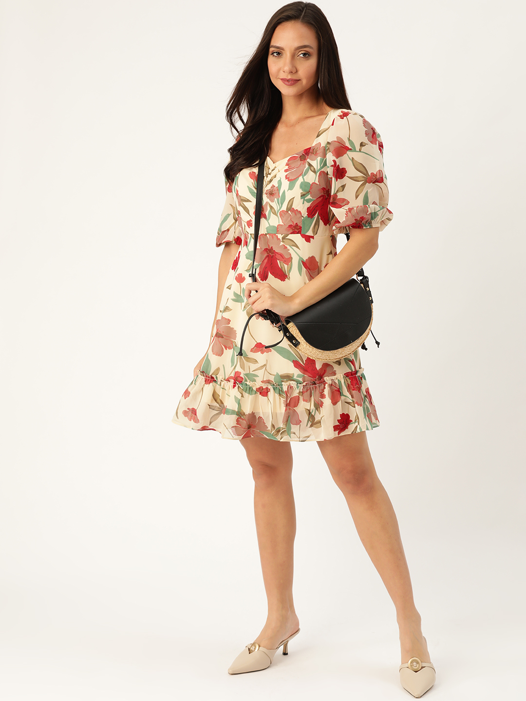 Dresses-She Got The Look Floral Dress2