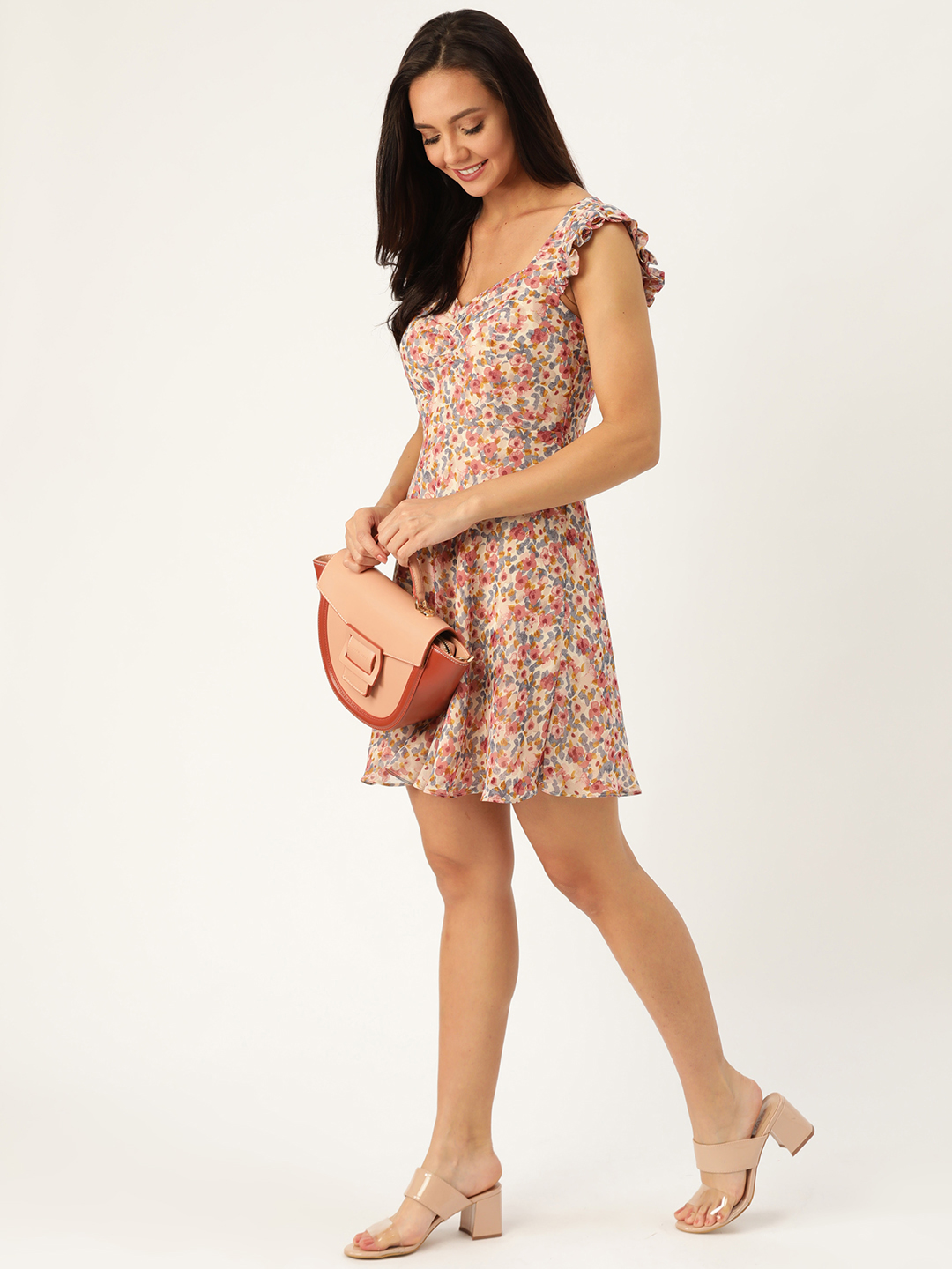 Dresses-Dressed To Frill Floral Dress2