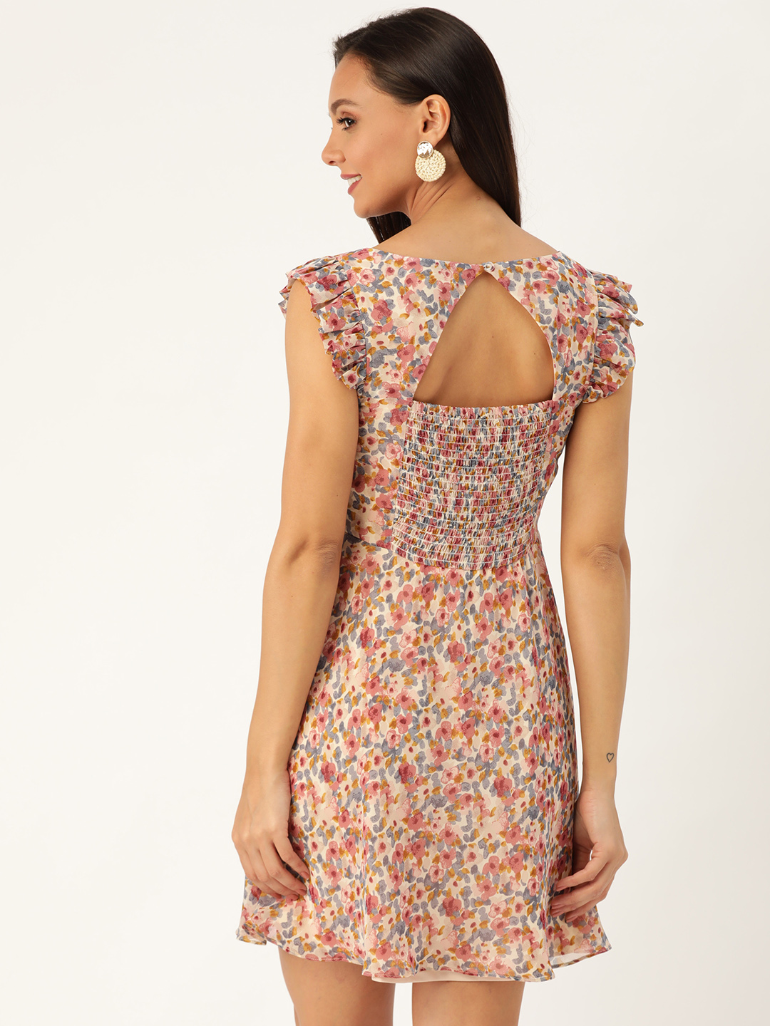 Dresses-Dressed To Frill Floral Dress3