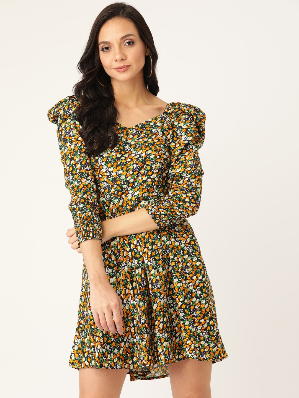 Dresses-A Floral Escape Dress2
