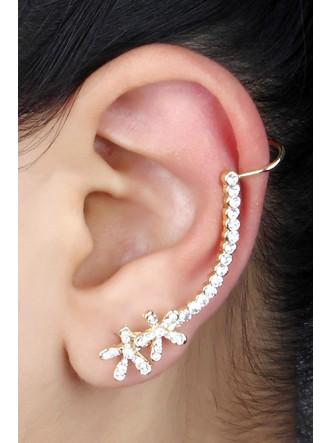 Ear Cuffs-Double Flower Power Ear Cuff Pair3