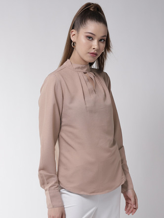 Tops-Dress The Part Formal Beige Top2
