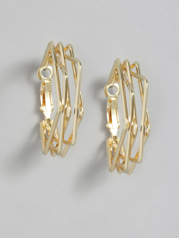 Earrings-Squared In Hoop Earrings1