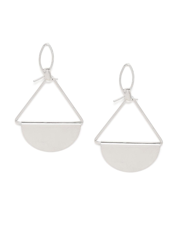 Earrings-Silver Two Shapes Of Me Earrings1