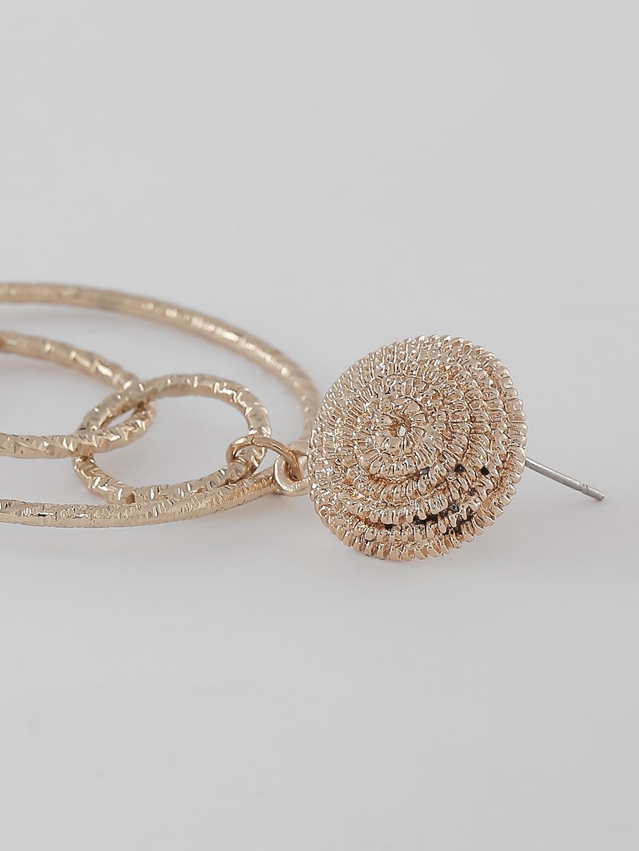 Earrings-Layered In Gold Earrings2