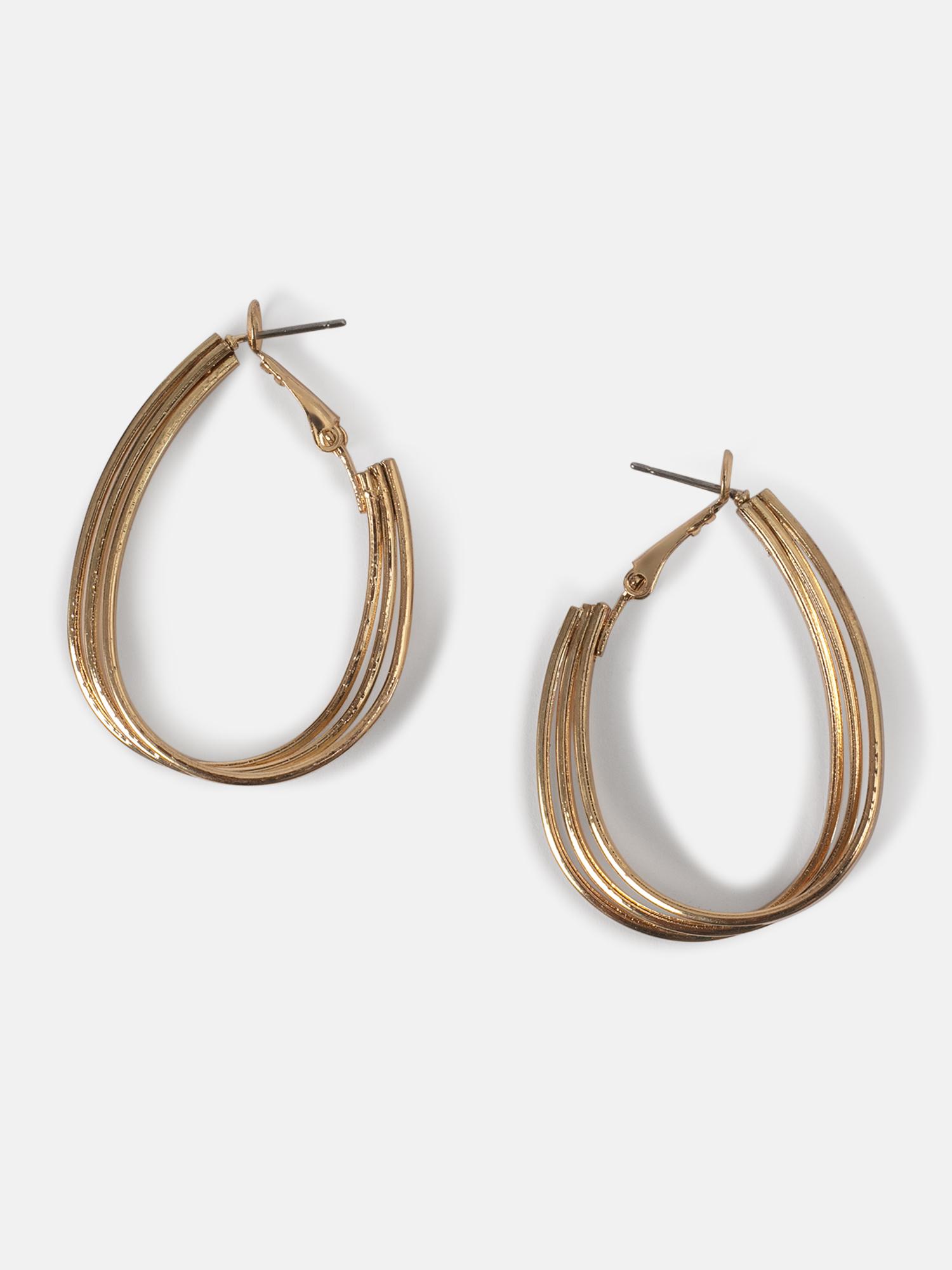 Earrings-The Stylish Trio Hoop Earrings1