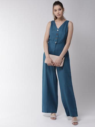 Jumpsuits-Ease Into Style Linen Jumpsuit4