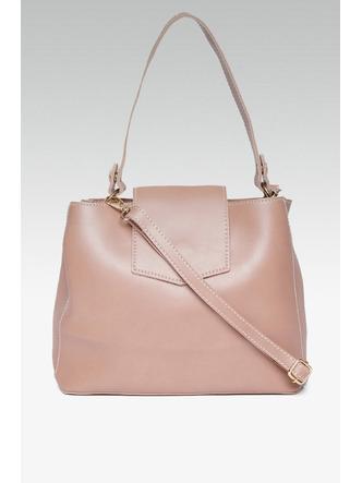 Hand Bags-Errands To Run Pink Mini Handbag5