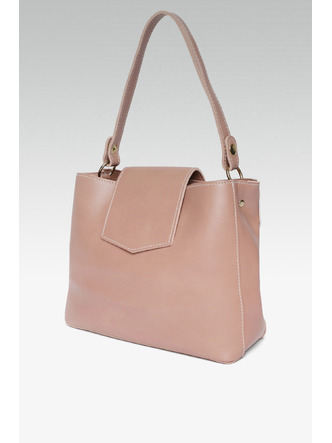 Hand Bags-Errands To Run Pink Mini Handbag6