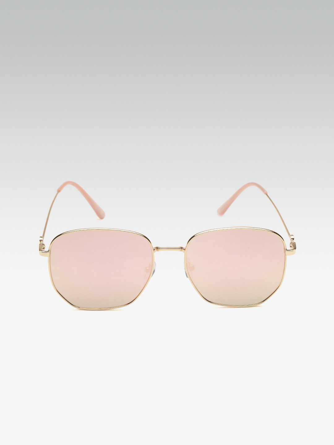 Sunglasses-Eyeing You Pink Reflective Sunglasses3